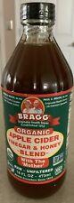 2 Bragg Organic Apple Cider Vinegar Honey Blend - 16 oz.