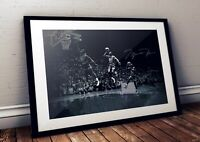 Michael Jordan Chicago Bulls We Have Lift Off NBA Autographed Poster Print