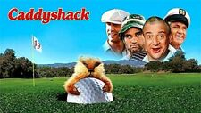 16mm Feature Film: CADDYSHACK (1980) Dangerfield, Chase, Murray - UNCUT - Mylar