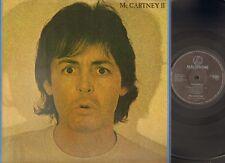PAUL McCARTNEY II 1980 Parlophone LP foc GATEFOLD with LYRICS