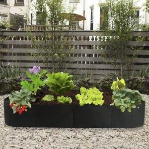 Fabric Raised Garden Bed, 135 Gallon 8 Holes