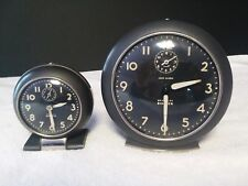 Pair of Vintage Westclox Big Ben/Baby Ben Alarm Clocks, Good Working Condition