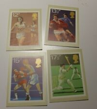 MINT 1980 GB SPORT  PHQ MAXI CARD SET OF 4