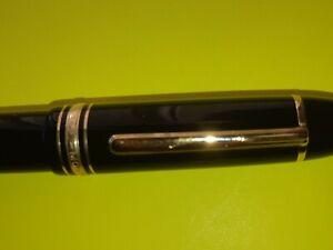 Montblanc Meisterstuck Fountain Pen, 14K Nib, 4810, 585 W Germany 1980's