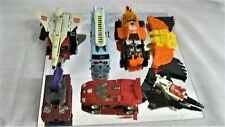 Vintage Lot of 6 Transformers