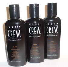 American crew Classic 3-in-1 Shampoo Balsamo & lavaggio del corpo 3 x 100ml