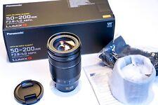 Panasonic Leica 50-200mm 2.8-4.0 ASPH OIS Lumix Objektiv Lens H-ES50200