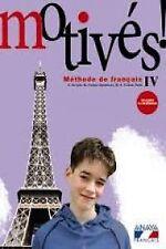 (12).MOTIVES! 4º.ESO (LIVRE ELEVE) FRANCES. ENVÍO URGENTE (ESPAÑA)
