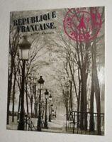 Eurographics Wandbild Bild Paris Rue Foyatier Weg Laternen 30X24 cm Schwarz Weiß