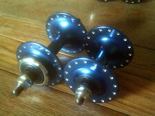 NOS MICHE BLUE PISTA 32 HOLE TRACK HUBS