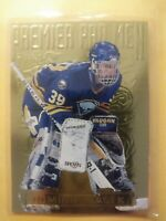 1994 Fleer Ultra Premier Pad Men Dominik Hasek Buffalo Sabres