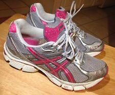 ASICS GEL PULSE 3 PINK Gray SILVER SNEAKERS WALKING RUNNING SHOES WOMENS SZ 8