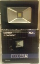 XQ-LITE BLACK 10W MAINS POWERED EXTERNAL SECURITY FLOOD LIGHT