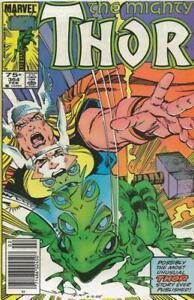 Thor #364 ORIGINAL Vintage 1986 Marvel Comics Frog Thor Newsstand