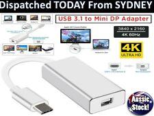USB C USB 3.1 Type C to Mini DisplayPort DP 4K Video Adapter Converter Cable