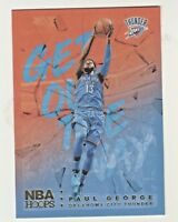 2018-19 Panini Hoops GET OUT THE WAY HOLO FOIL #GOW-12 PAUL GEORGE OKC Thunder
