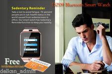 Bluetooth Smart Watch PER SAMSUNG ANDROID IPHONE IOS + FOTOCAMERA SIM alloggio