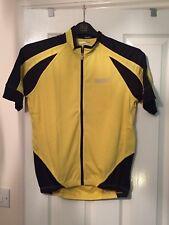 Spakct Cycling Jersey Size M Yellow BNWT
