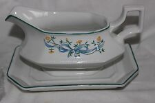 Poterie Johnson Brothers Eternal Belle gravy boat & soucoupe