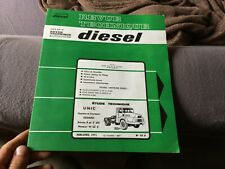 Magazine Technical Diesel Truck And Tractor Unic Izoard Serie P And T 270