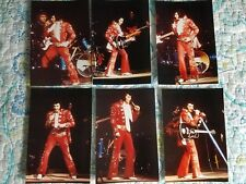 Elvis Presley 12 Photo Red Burning Love Set-Richmond 4/72 & CD!