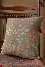 William Morris Cushion Cover Vintage Up cycled Dove and Rose