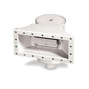 Wide Mouth Through-Wall Replacement Above Ground Pool Skimmer