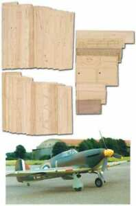 Hawker Hurricane Mk.1 - Short Kit (Set) - RC Model Aircraft for scratch building