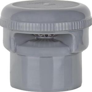 Rohrbelüfter Belüftungsventil DN NW 50 75 110 Abflussrohr Entlüfter grau