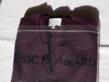 BOMPARD Pull Manche Courte Short Sleeve Cachemire Soie Cashmere Silk aubergine L