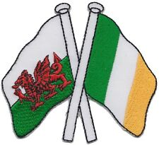 Wales & Ireland Friendship Embroidered Patch