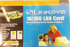 Linskys Etherfast PCI 10/100 Adapter w/Wake-On-Lan for Desktop Computers
