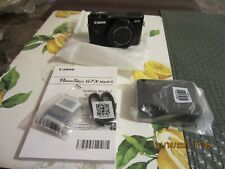 Canon PowerShot G7X Mark II 20.1MP Digital Camera New!