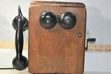Western Electric Wall Mounted Crank Telephone