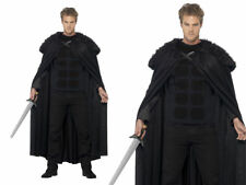 TALES OF OLD ENGLAND DARK BARBARIAN FANCY DRESS COSTUME DELUXE MEDIUM