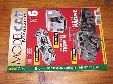 $$$ Revue Model Car Magazine N°6 Citroen Type HM 26 PacificPeugeot 203
