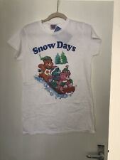 Care Bears Snow Days Tshirt Size L Truffle Shuffle