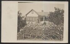 Rp Postcard Shawano Wisconsin/Wi Porter? Family at California Winter Home 1909