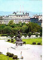 Wien , Heldenplatz und Burgtheater , Ansichtskarte