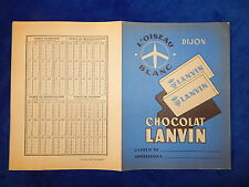 PROTEGE CAHIER ANCIEN / Old copybook cover - LANVIN