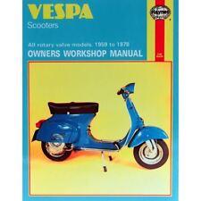 Manual Haynes for 1976 Vespa 125 Primavera (VMA2T) (121cc)