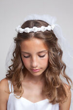GIRLS HOLY COMMUNION VEIL, V 34
