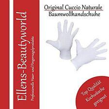 Baumwollhandschuhe weiß Cotton Gloves white Allergiker geeignet Gr.L10 Top Marke