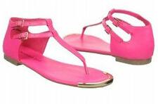 Madden Girl Suurge thong sandal fuchsia pink 9.5 Med NEW