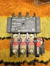 Joslyn Clark HP10U03 Starter, 27 Amp, Size 1, 24V Coil, 50/60HZ, w/ KHP-1 Aux.