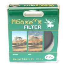 Moose 62mm Warming Circular Polariser Filter - NEW