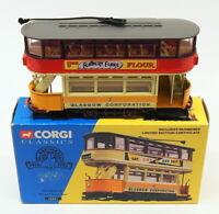 Corgi Appx 10cm Long Diecast 36801 - Glasgow Closed Tram