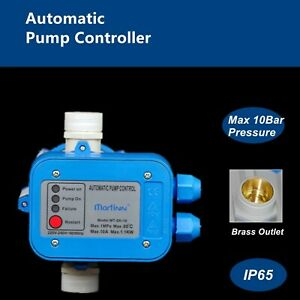 AUTOMATIC WATER PUMP CONTROLLER PRESSURE SWITCH ELECTRIC ELECTRONIC CONTROL SK10