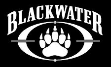 BLACKWATER shadow army decal sticker,40,.45,Hand Gun,GREAT for GLOCK Enthusiasts