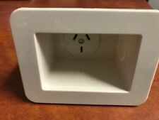 RECESSED SINGLE MAINS POWER POINT OUTLET 240V INSTALL BEHIND TV FRIDGE MICROWAVE